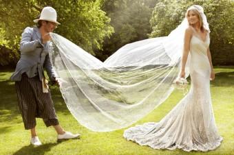 Kate Moss with John Galliano (Medium)