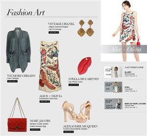 أليس + أوليفيا فنالأزياء