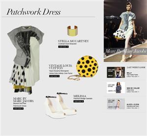 مارك باي مارك جاكوبس: فستانمرقّع