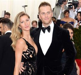 جيزيل بوندشين وتوم برادي: أكثر الأزواج المشاهيرنفوذاً