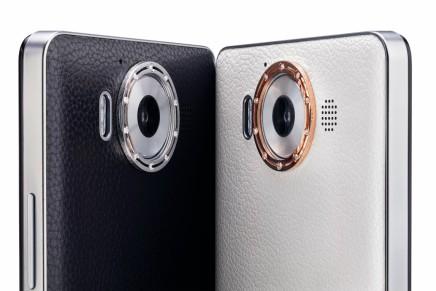 دمياني تكشف عن أغطية فاخرة مرصعة بالذهب والألماس للهاتف Lumia950