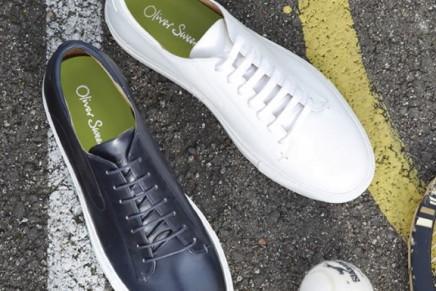 أوليفر سويني تقدم مجموعة جديدة من الأحذية الرياضيةالفاخرة