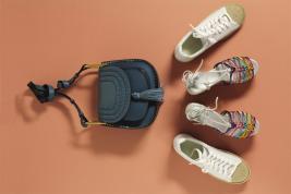 Bag: Chloé -Thuraya MallSandals: Chloé-Thuraya MallSneakers: Alexander Wang -Al Ostoura Thuraya Mall -Al Ostoura The Avenues Mall