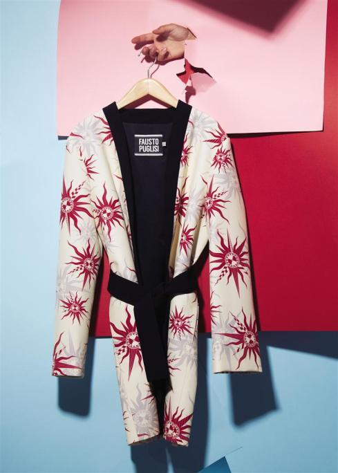 Coat: Fausto Puglisi Al Ostoura Thuraya Mall