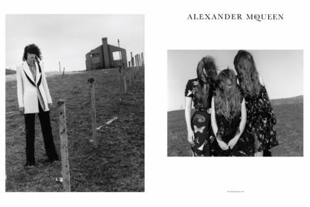 ألكسندر ماكوين يكشف عن حملته الدعائية لخريف2016