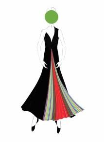 ماري كاترانتزو تأتي بالأزياء إلىالباليه