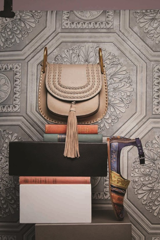 1 - Chloé Bag Thuraya Mall, Al Ostoura Salhiya Complex, Al Ostoura The Avenues 2 - Etro Shoes Thuraya Mall, The Avenues
