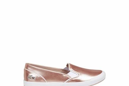 لاكوست تطلق مجموعة جديدة من الأحذيةالنسائية