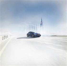 إنفينيتي تستعد لإطلاق إمكانات سيارتها الجديدة Q50 رد سبورت400