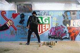تاغ هوير تطلق معرضاً حصرياً في بيروت احتفالاً بالفن والإبداع المعرض يسلط الضوء على أعمال فنان الجرافيتي ومصدر إلهام العلامة أليكمونوبولي
