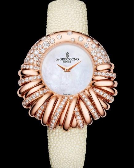DE GRISOGONO إبداعات رمزية أحتفالية ساعة ) ALLEGRA 25 (المجوهرة