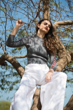 TOP Adeam Al Ostoura Salhiya Complex TROUSERS Balenciaga Thuraya Mall
