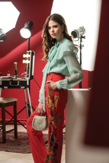 TOP & BAG Chloe TROUSERS Etro EARRINGS Vintage Chanel - WCGA Thuraya Mall